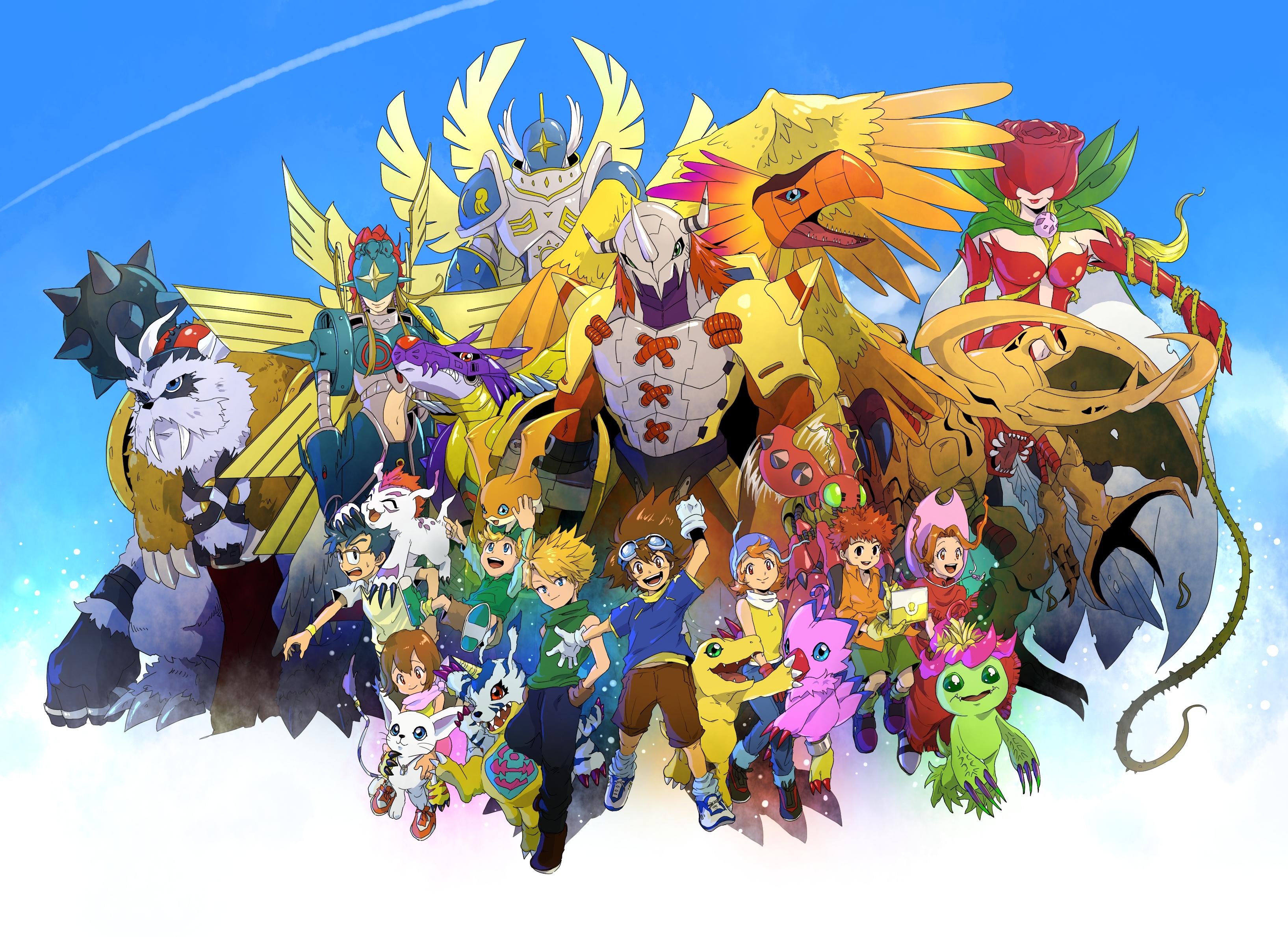 Fredag 1 maj: Digimon