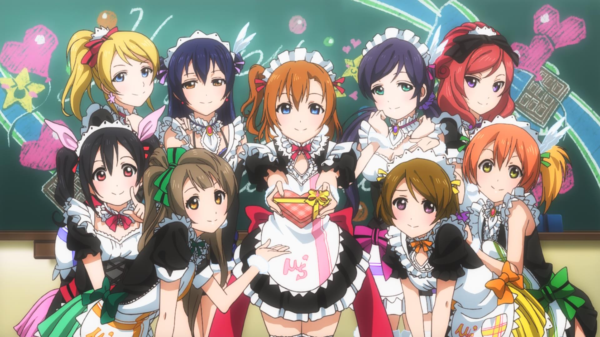 Fredag 11 december: Idol aften, snak om idoler, dans og idol anime (Love Live!, AKB0048)