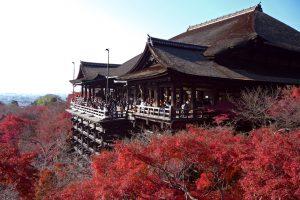 Kiyomizu-dera i Kyoto