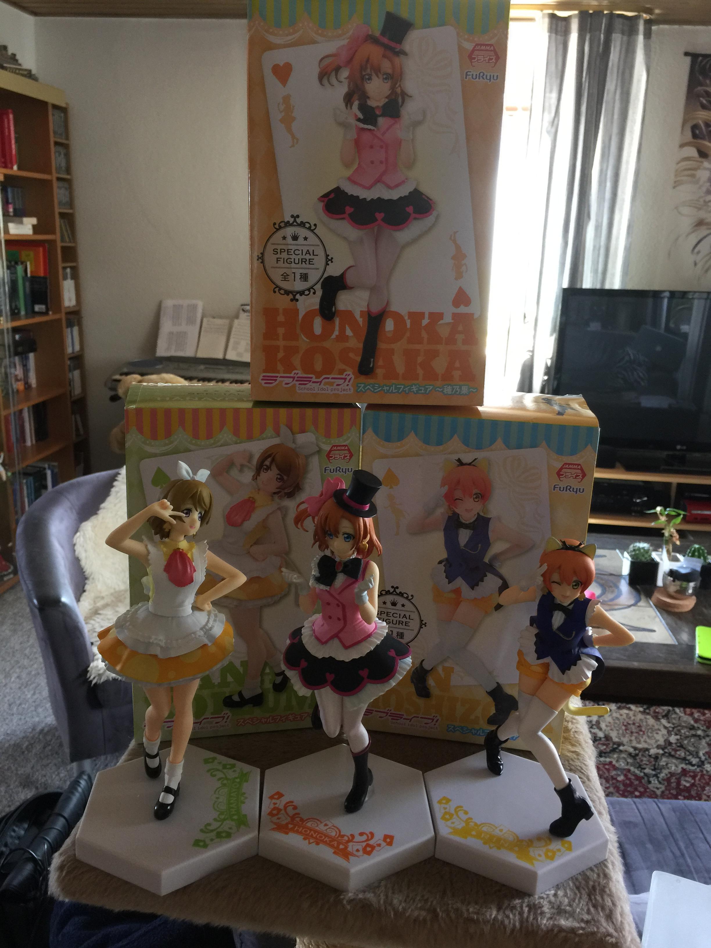 Fredag 24 februar 2017 - Anime figurer og samling af dem