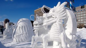 Fredag 10 marts – Is-skulptur festivaller i Japan
