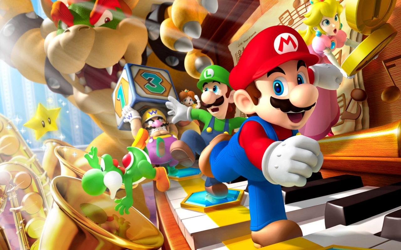 Fredag 14 april 2017 – Mario dag