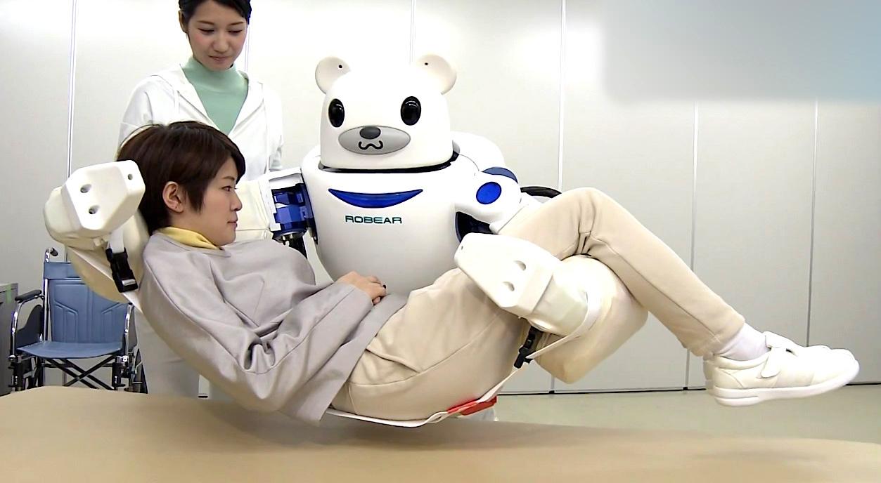 Fredag 28 april 2017 - Japanerne og velfærdsteknologi