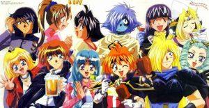 Fredag 26 maj 2017 - 90er anime dag