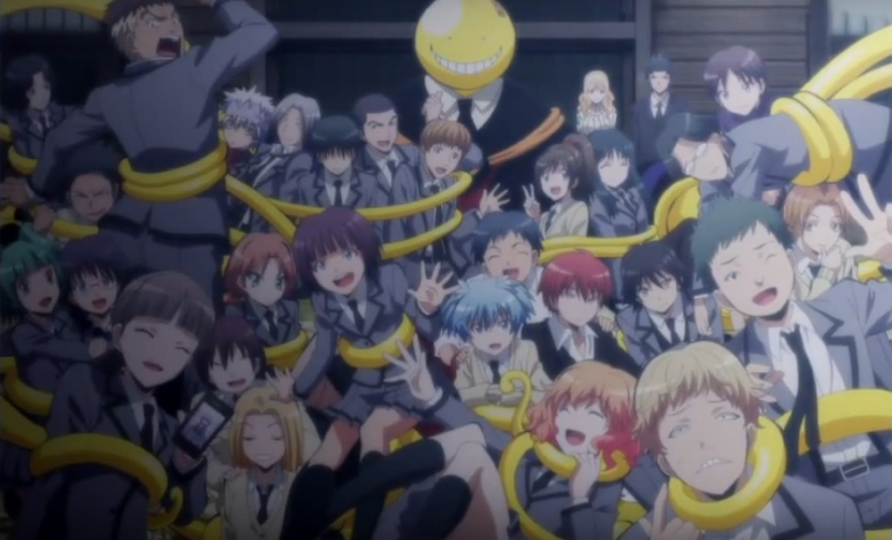 Fredag 15 september 2017 - Anime aften: Assassination Classroom