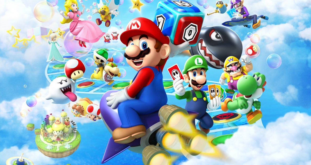 Fredag 5 oktober - Mario Party dag!