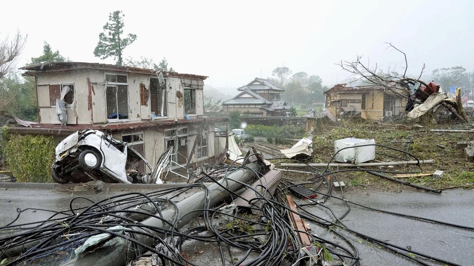 Fredag 6 december 2019 – Årets katastrofer i Japan