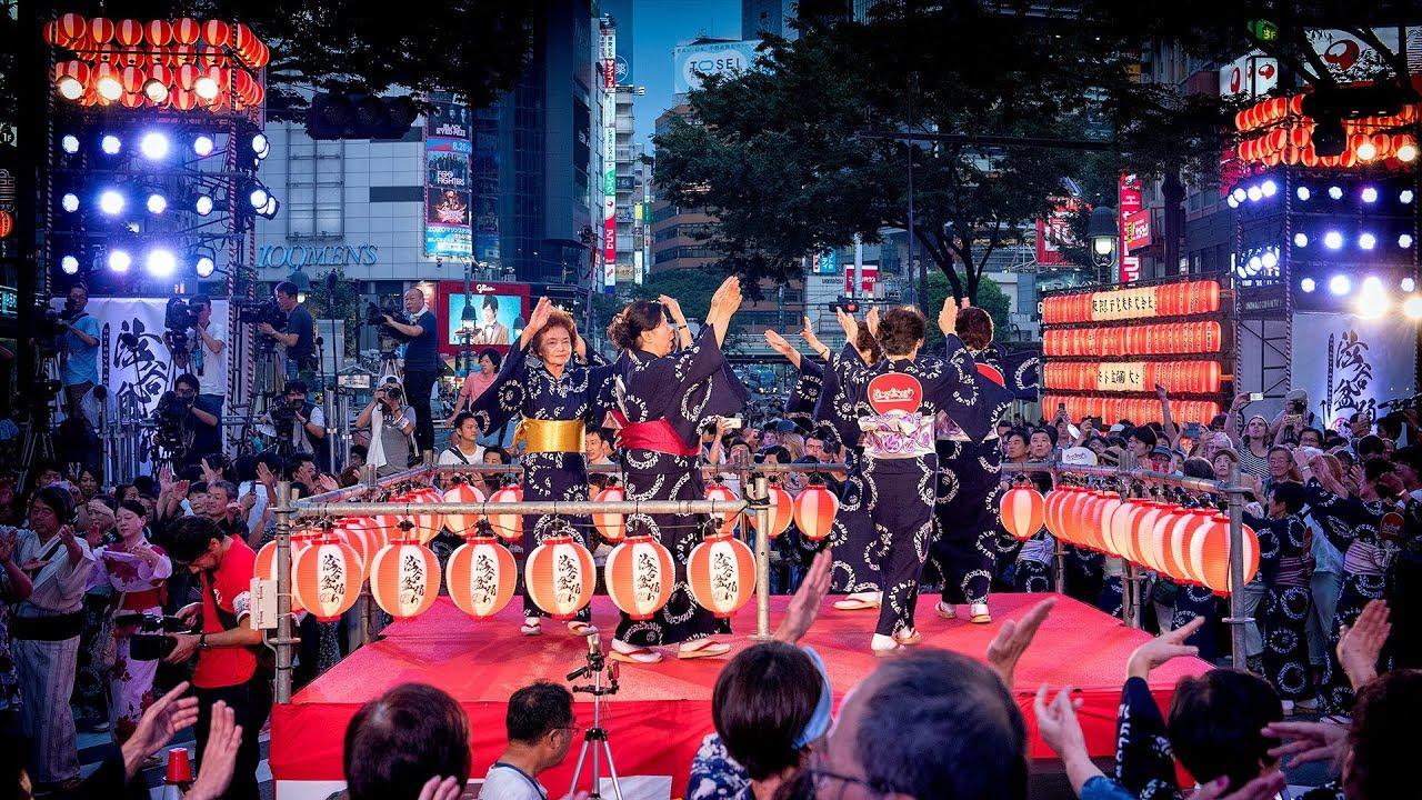 Fredag 24 juli – Obon matsuri med festivalstemning