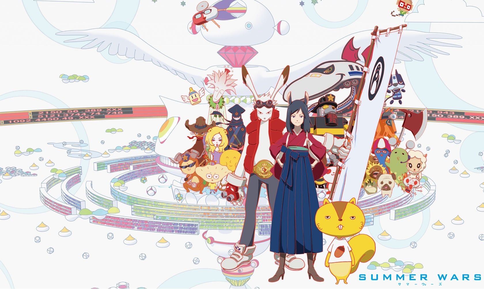 Fredag 28 august – Summer Wars anime film aften